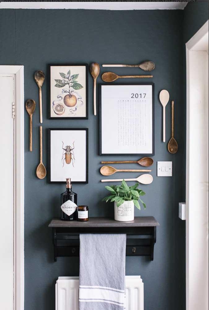 Ou decorar conforme o seu estilo, mas sem passar da área delimitada.