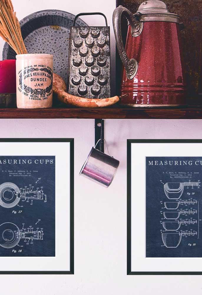 Qual o tema que você vai escolher para os quadros da cozinha?