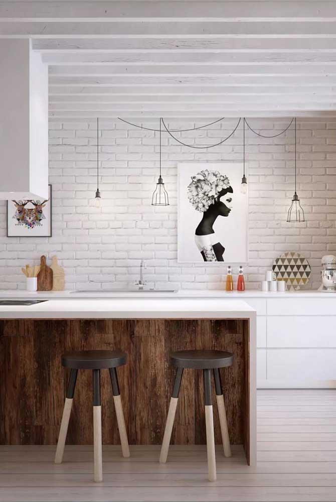 Veja que quadro inspirador para colocar na cozinha.