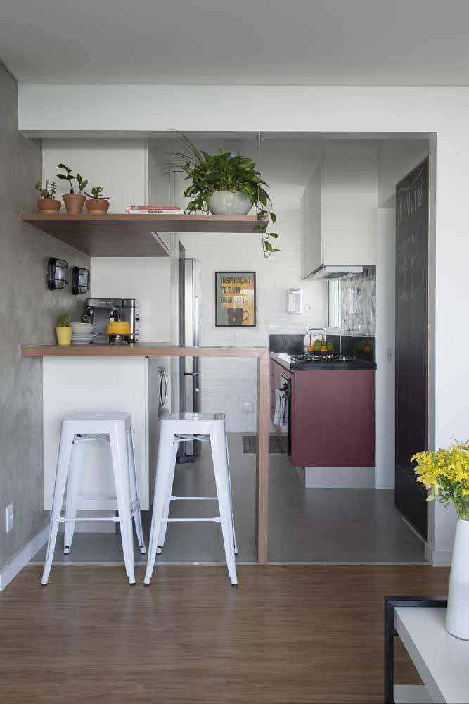 Os quadros para cozinha americana podem ser pendurados na parede ou colocados em cima do balcão.