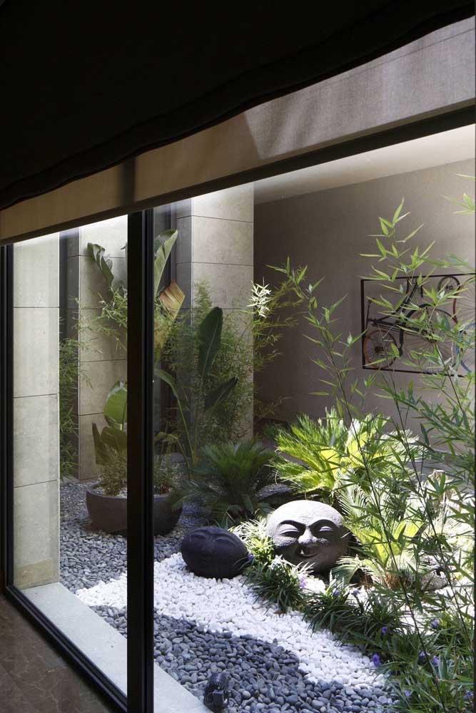Quem disse que não é possível fazer um jardim japonês residencial?