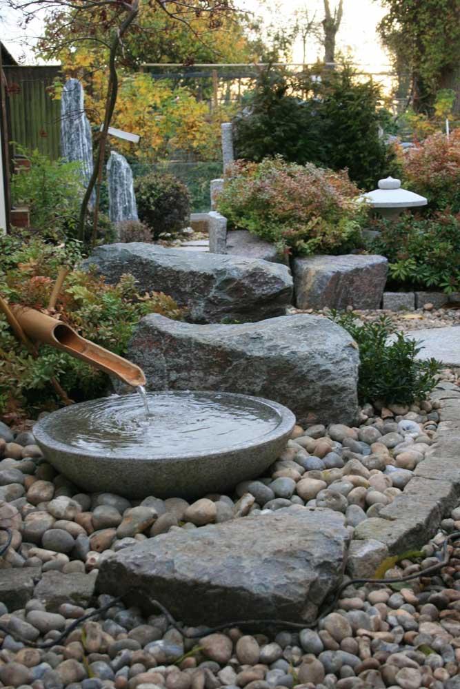 Você mesmo pode montar o jardim japonês na sua casa.