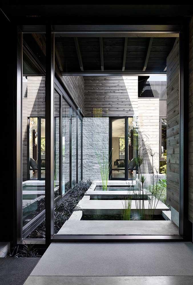 Separe um cantinho especial na sua casa para fazer o jardim japonês.