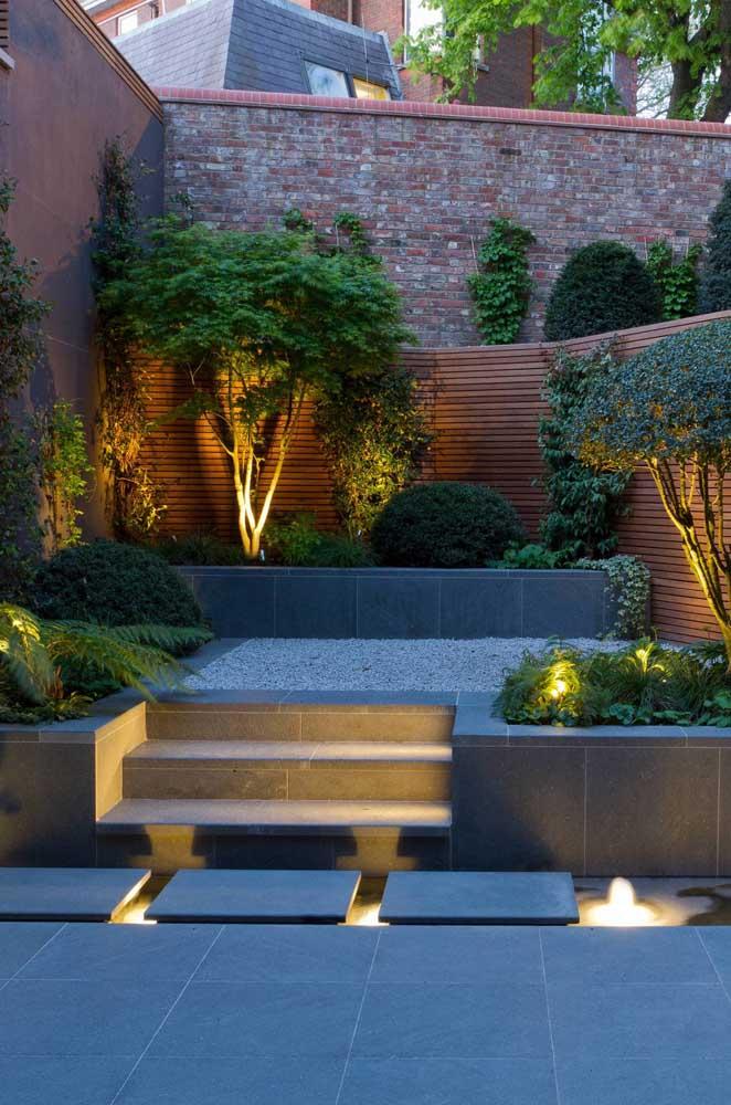 É possível fazer o jardim japonês mais moderno.