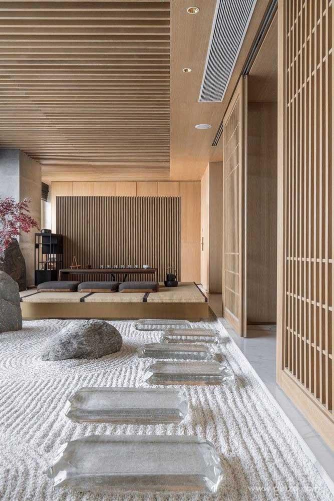 O que acha de fazer um jardim japonês completamente diferente?