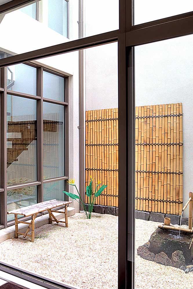 Se você quer ficar próximo da natureza, aposte no jardim japonês.