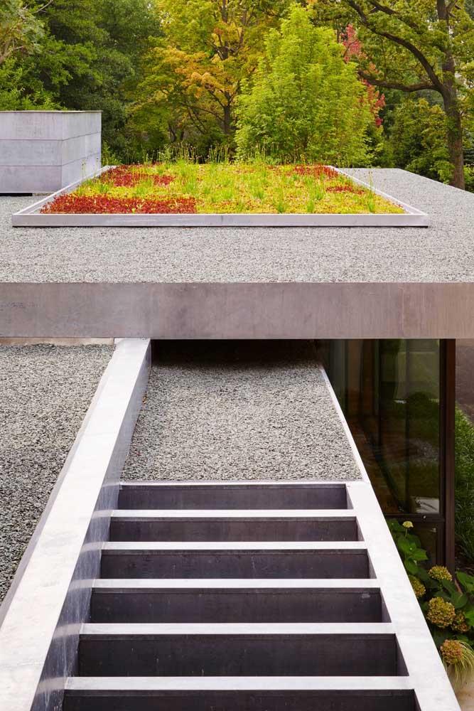 O jardim japonês pode ser feito em um cantinho da casa.