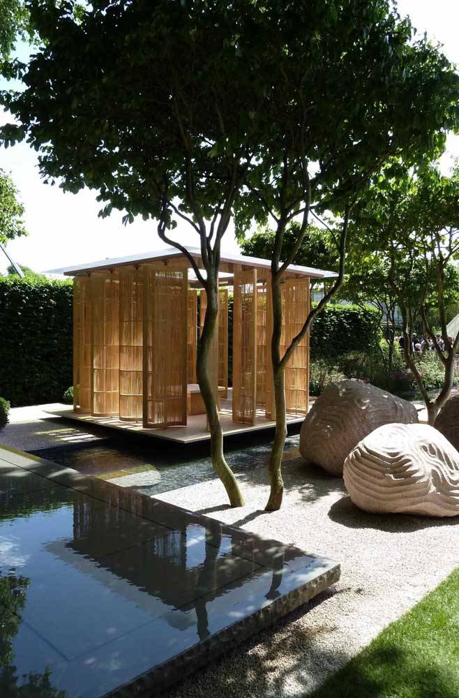 Existem vários estilos de jardim japonês. Escolha o que mais combina com você.