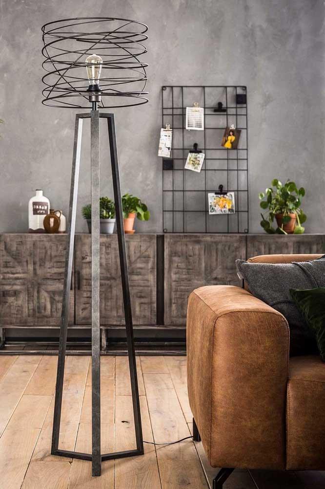 Você já escolheu qual o modelo de luminária de chão vai decorar a sua casa?