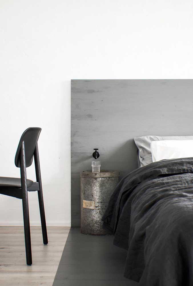 Olha que quarto de casal simples e moderno.