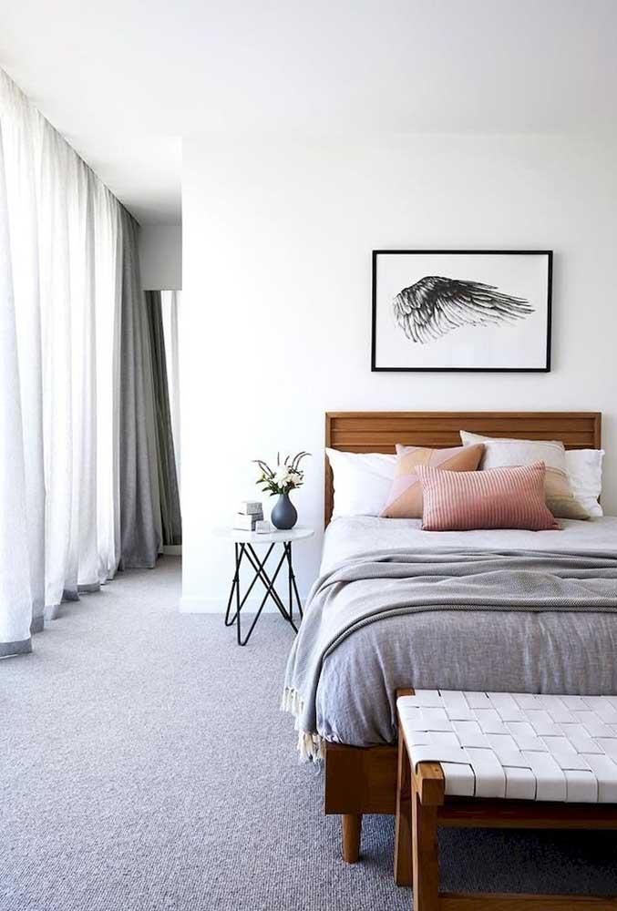 As cores podem influenciar na decoração do quarto.