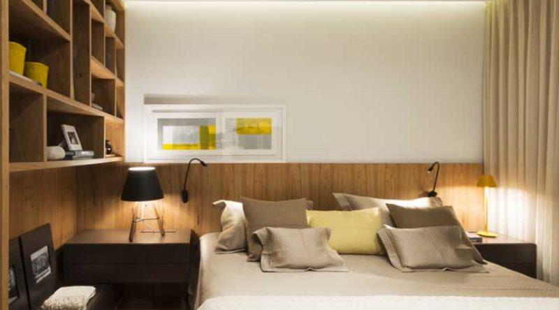 Quarto de casal simples: 60 ideias incríveis para você acertar na decoração