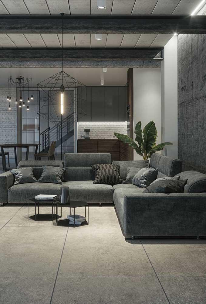Mas também é possível caprichar na decoração e criar um ambiente mais aconchegante e elegante.