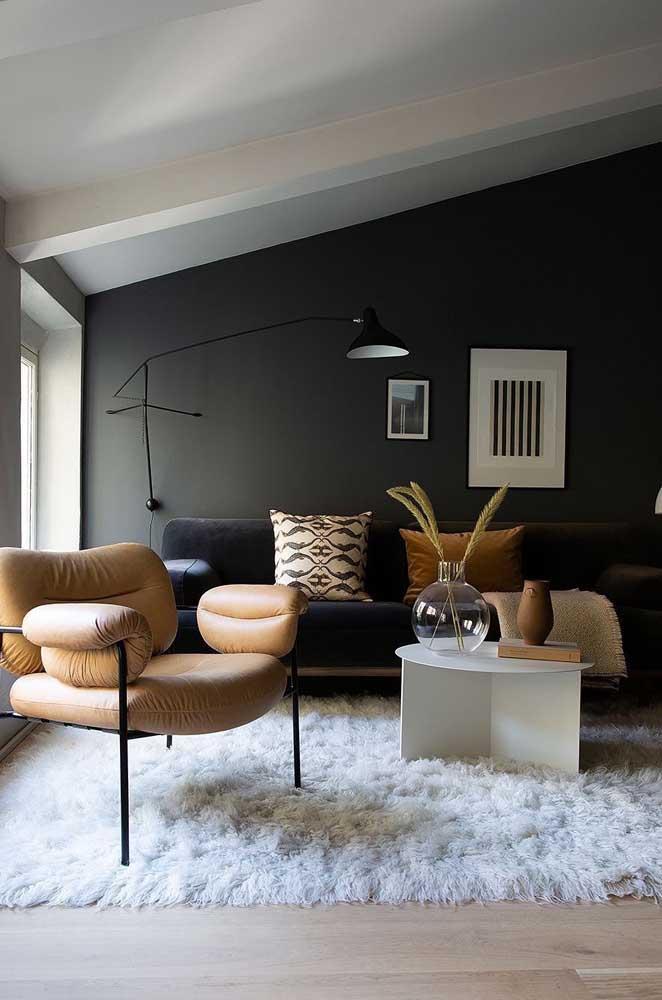 Tem casa mais aconchegante do que aquela com tapete felpudo?