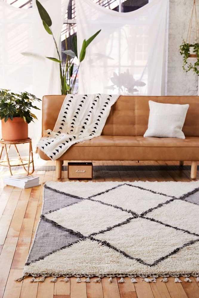 Já sabe qual tapete felpudo para sala você vai escolher?