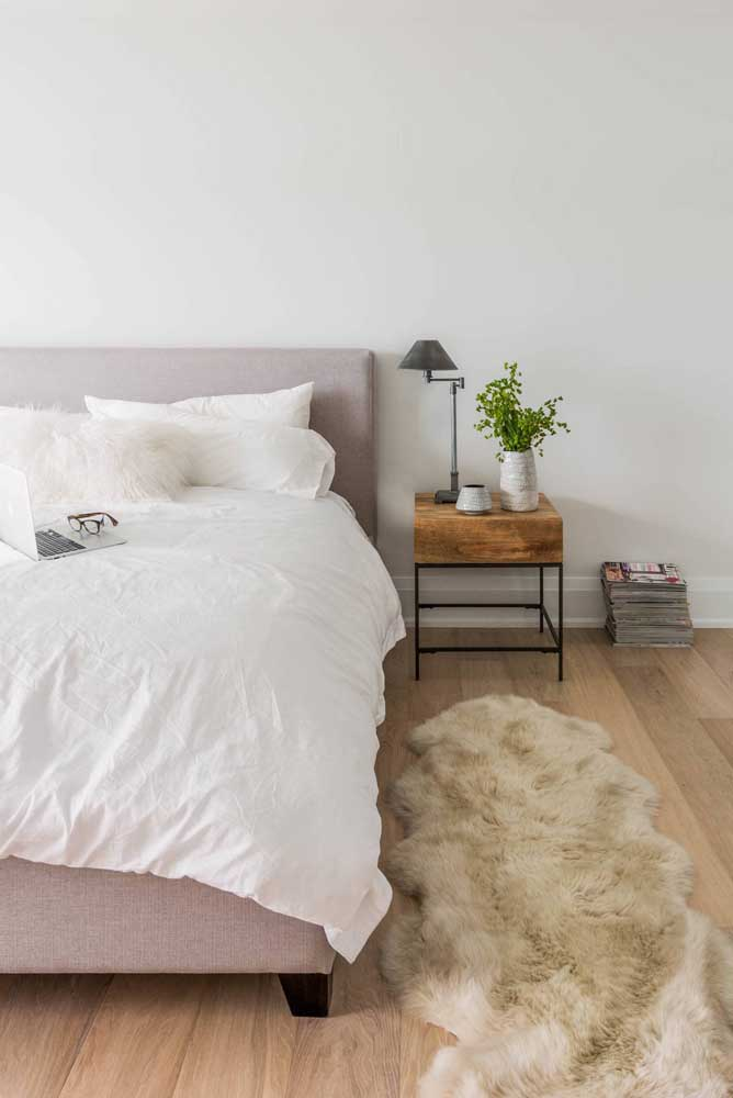 O tapete de lã é um dos mais usados na decoração.