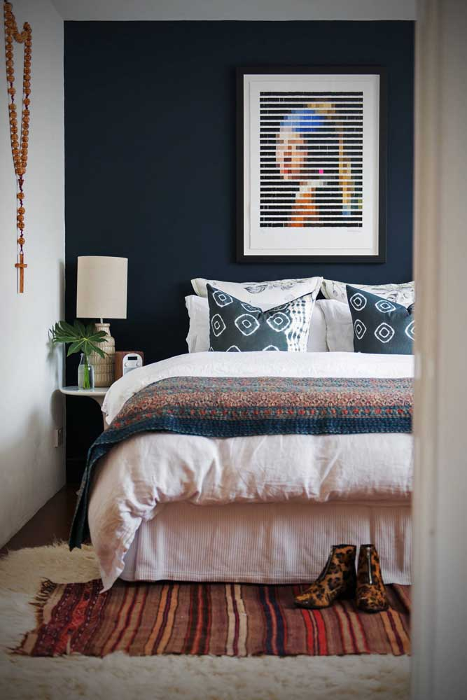 O mais importante é escolher um tapete que combine com seu estilo.