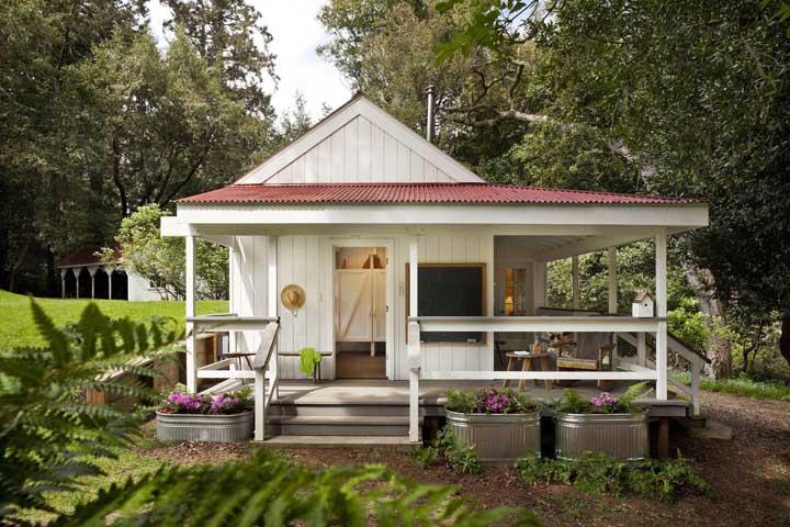 Uma casinha de contos de fadas para você relaxar como nunca!