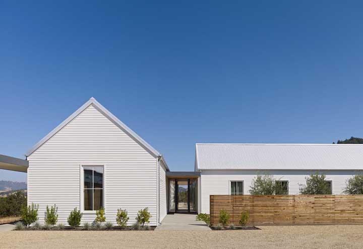 Casa de campo simples, mas perfeita para passar dias tranquilos