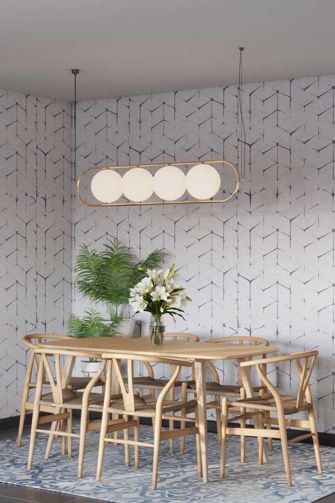 Quer fazer uma decoração prática e econômica? Escolha o papel de parede.