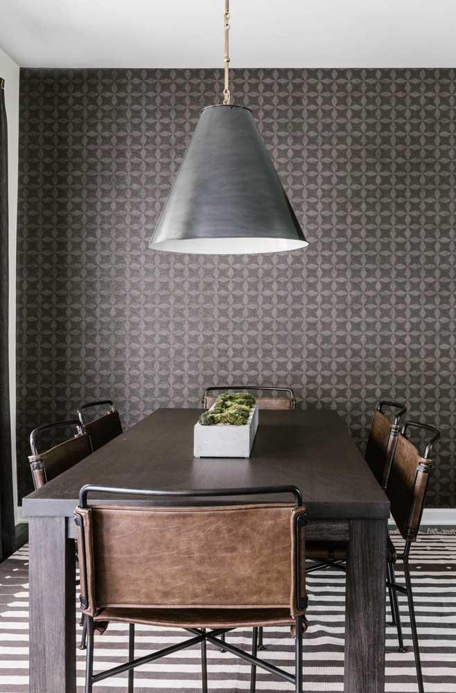 Crie um ambiente elegante e moderno.
