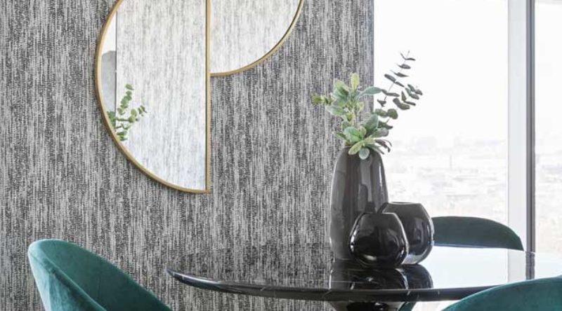 Papel de parede para sala de jantar: 60 ideias e inspirações para decorar