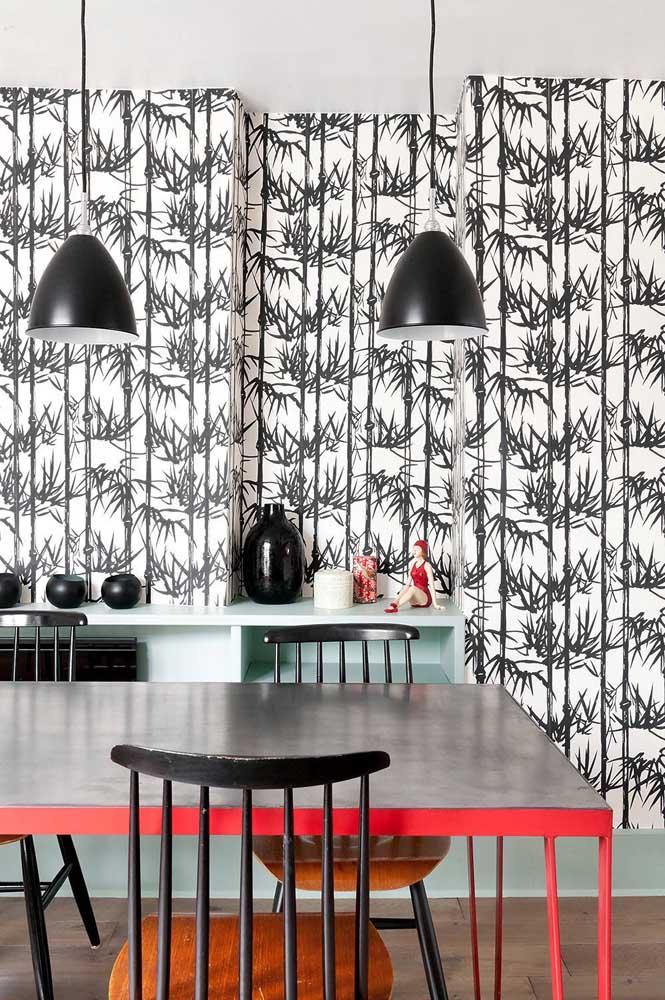 Além disso, é imprescindível que as cores escolhidas para o papel de parede ajudem a equilibrar o ambiente.