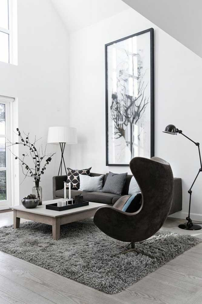 Que ambiente elegante, charmoso e moderno.