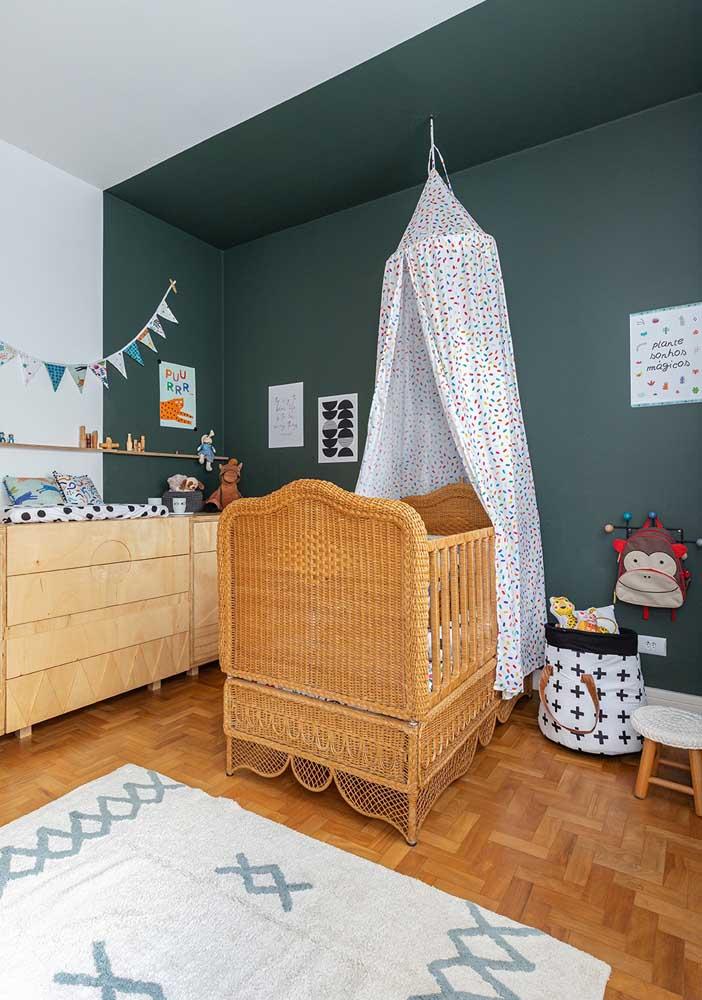 Veja como você pode fazer uma decoração de quarto de bebê masculino simples.