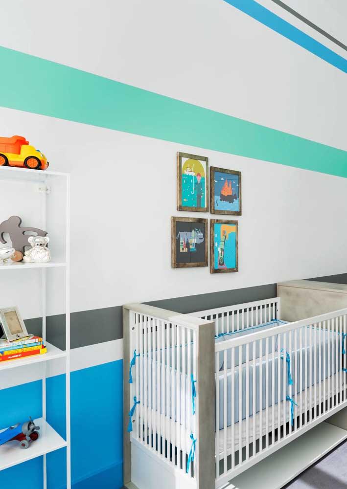 O quarto de bebê precisa ser um lugar tranquilo.