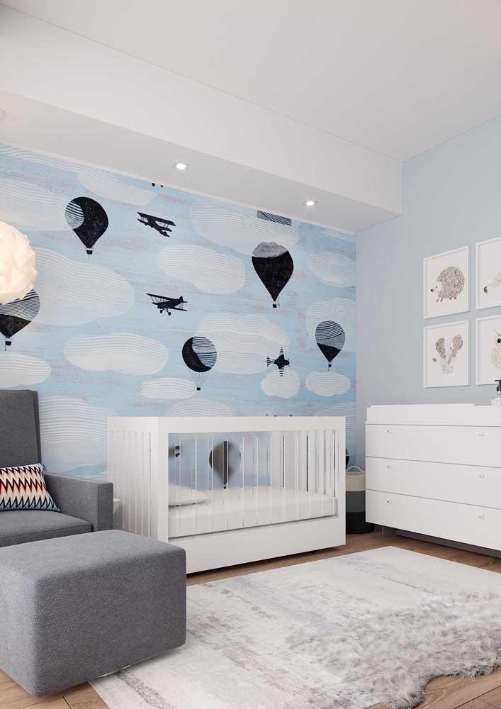 Quem não quer um quarto de bebê masculino decorado?