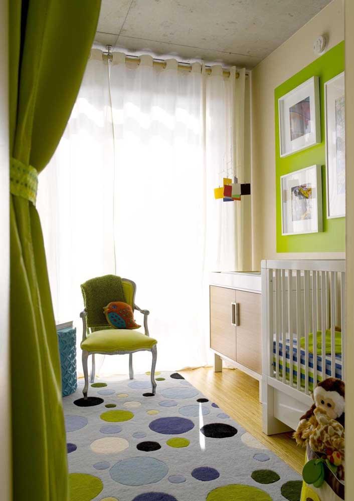 Você já imaginou decorar com verde limão?