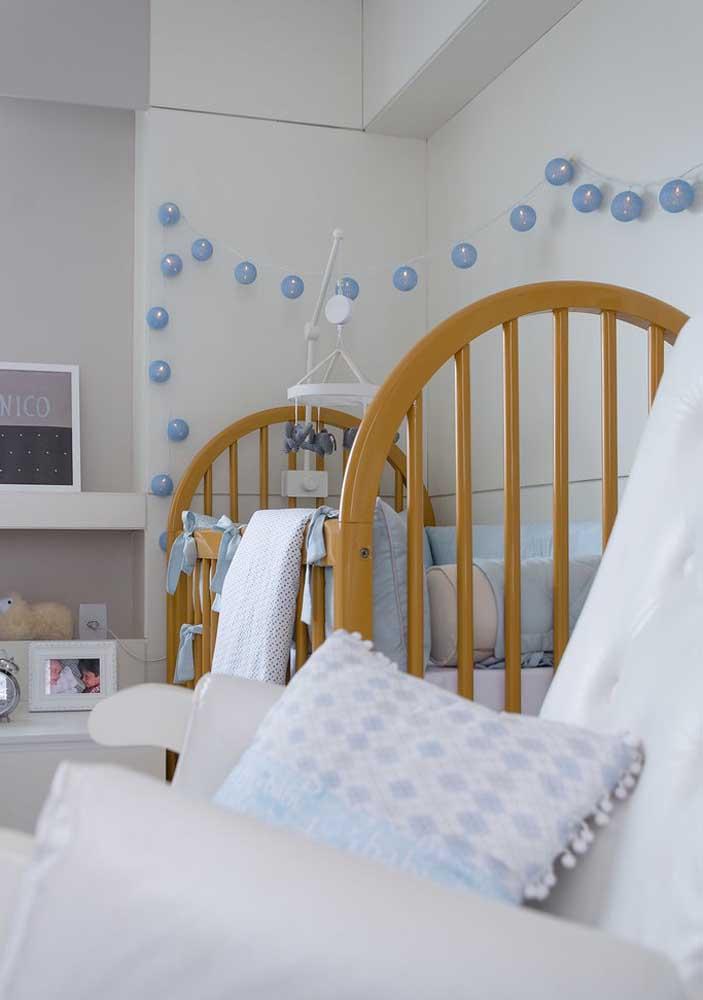 Capriche na decoração do quarto de bebê masculino.