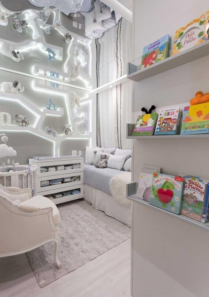 O que acha de fazer um quarto de bebê masculino de luxo?
