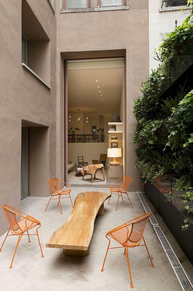 Aposte em móveis diferenciados para fazer da sua área de lazer um lugar especial.