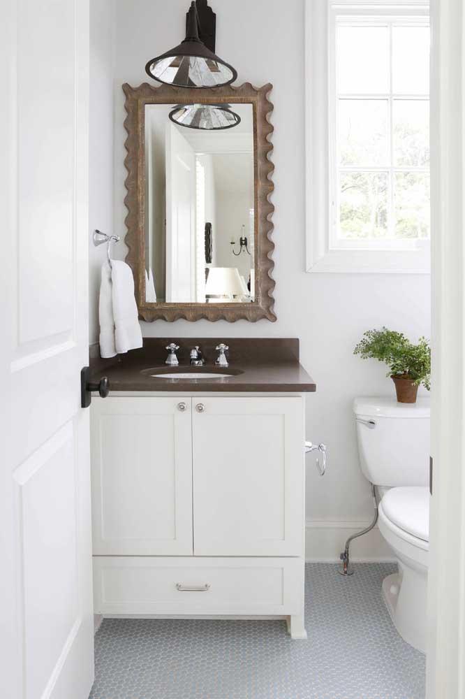 O mais indicado é usar o granito marrom absoluto que combine com a decoração do ambiente.