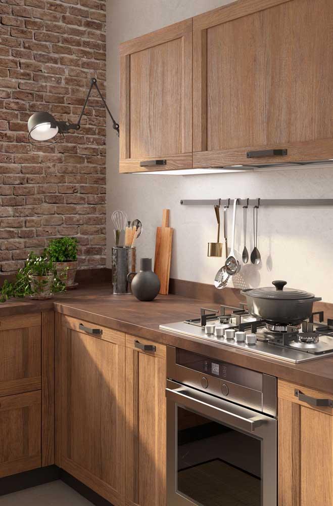 Veja como você pode decorar a sua cozinha para ficar com o estilo rústico.