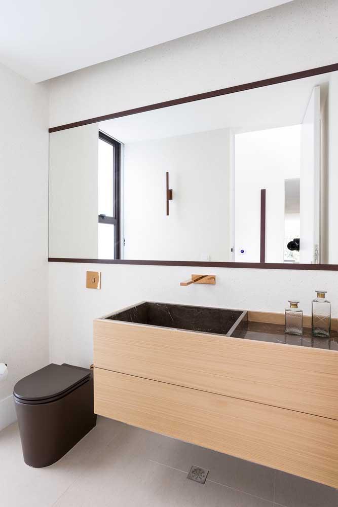 Tanto é que você pode usá-lo em qualquer ambiente da casa, principalmente cozinha e banheiro.