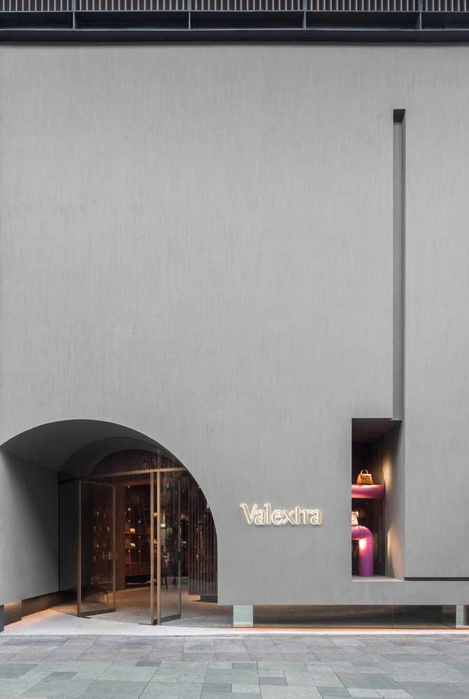 E o que acha de uma fachada mais minimalista?