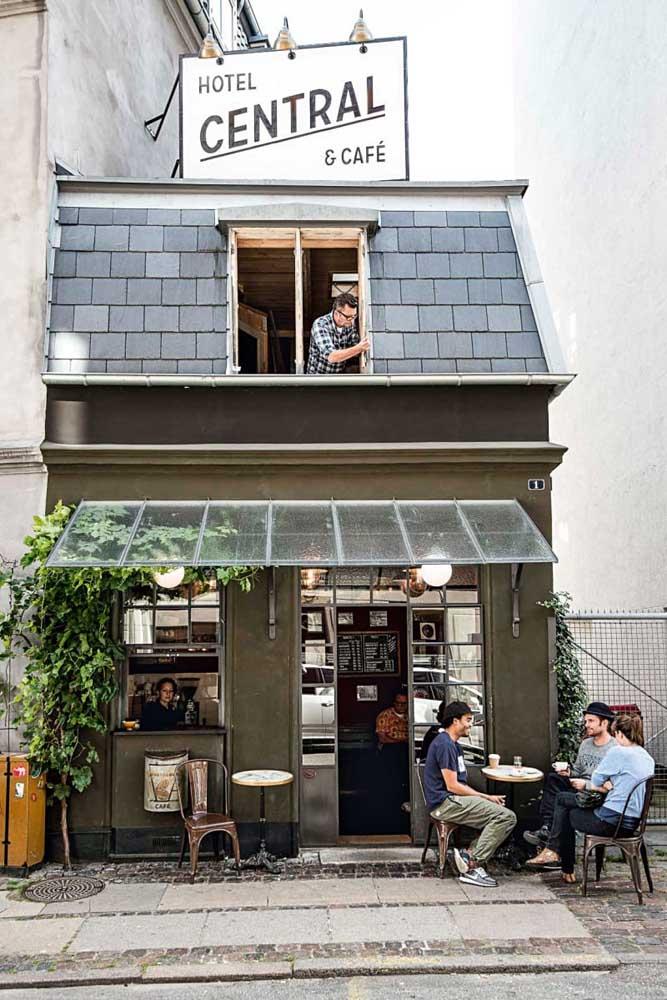 Uma casa ou um café? A fachada é tão acolhedora que a gente fica na dúvida!