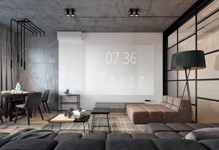 Cinema em casa para quem deseja combinar conforto com diversão