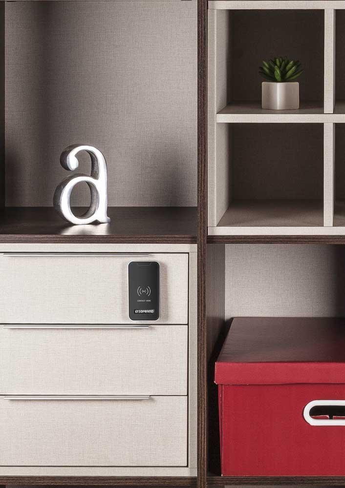 Fechadura digital para uma casa mais segura