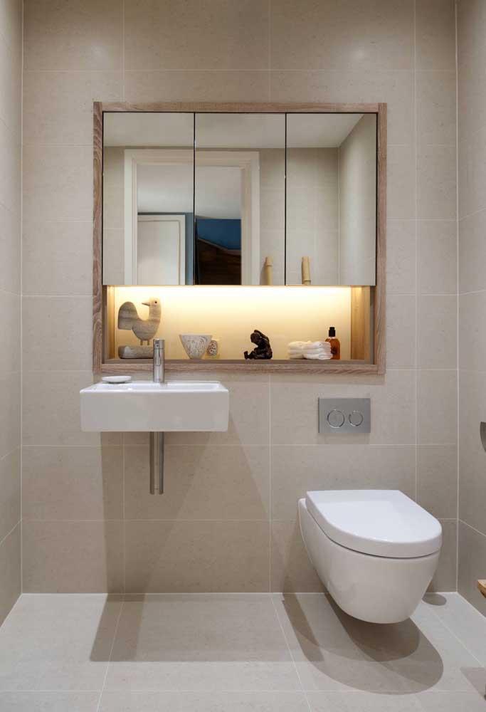 Olha como você pode decorar um banheiro simples e barato.