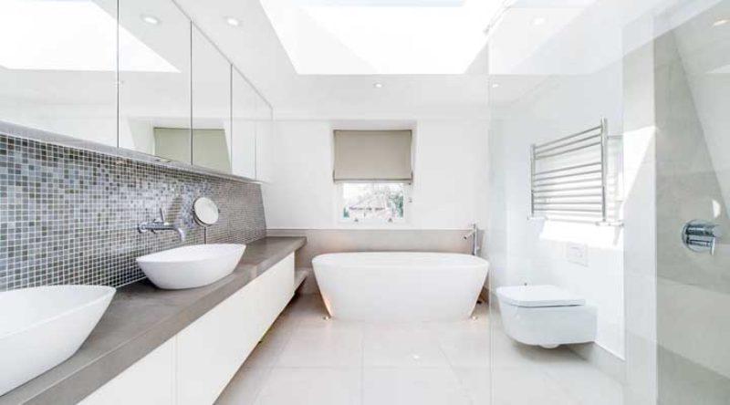 Banheiros simples e bonitos: 60 fotos, dicas e ideias para decorar agora