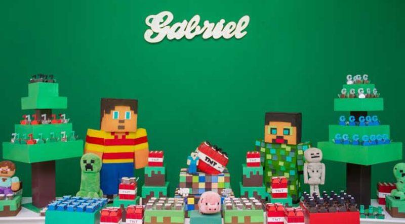 Festa Minecraft: como fazer, dicas e 60 fotos incríveis de decoração
