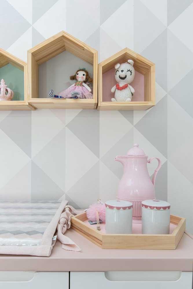 Casinhas de madeira para as bonecas!