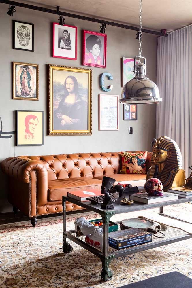 Quadros vintage para uma decoração arrojada e bem contemporânea