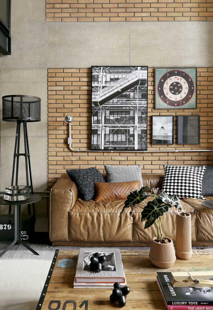 Quadros vintage para sala de estar com fotografias antigas