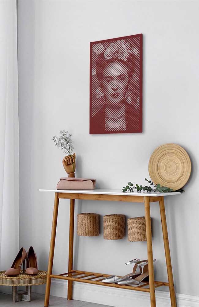 Quadro vintage de Frida Kahlo