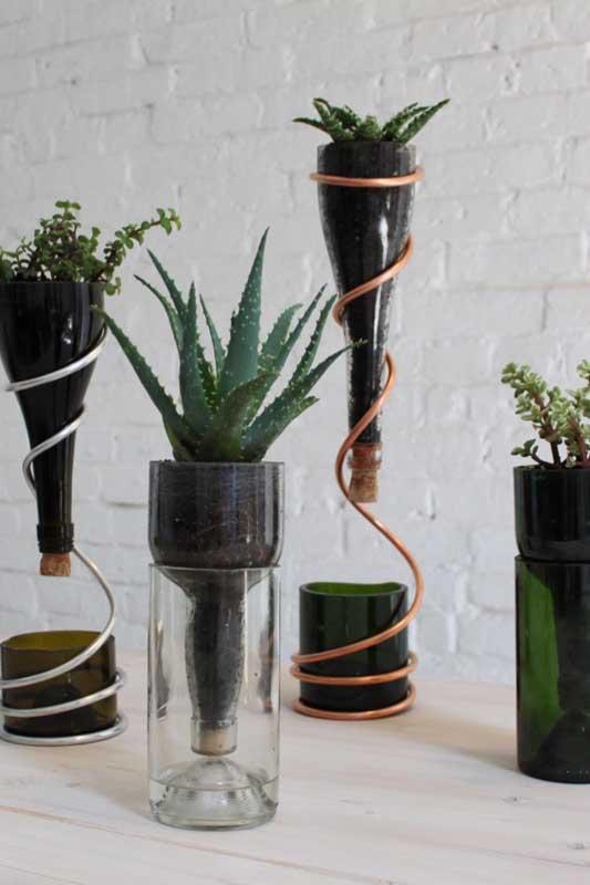 Procurando inspiração de vasos criativos? Olha esses!
